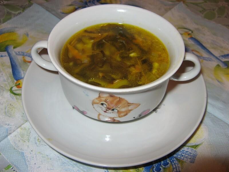 суп из морской капусты: рецепт