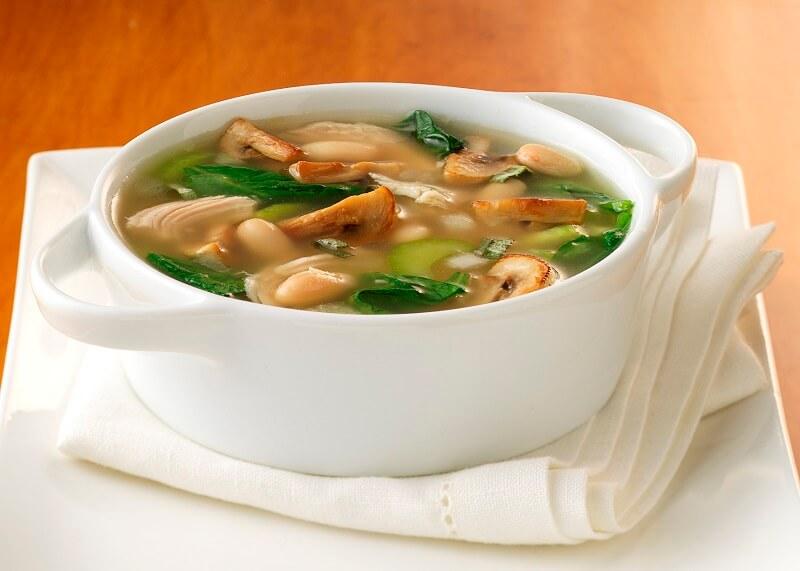 как сварить грибной суп из замороженных грибов
