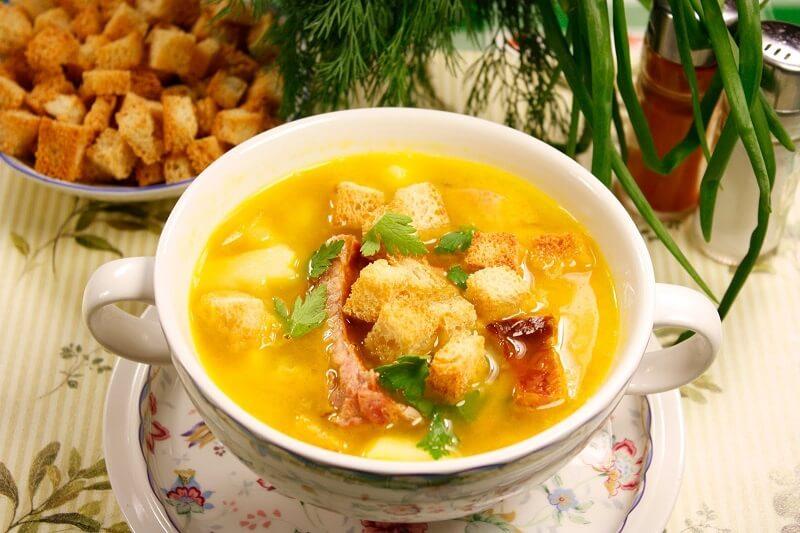 как варить гороховый суп с курицей