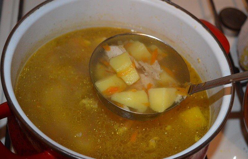 сколько варить курицу для супа