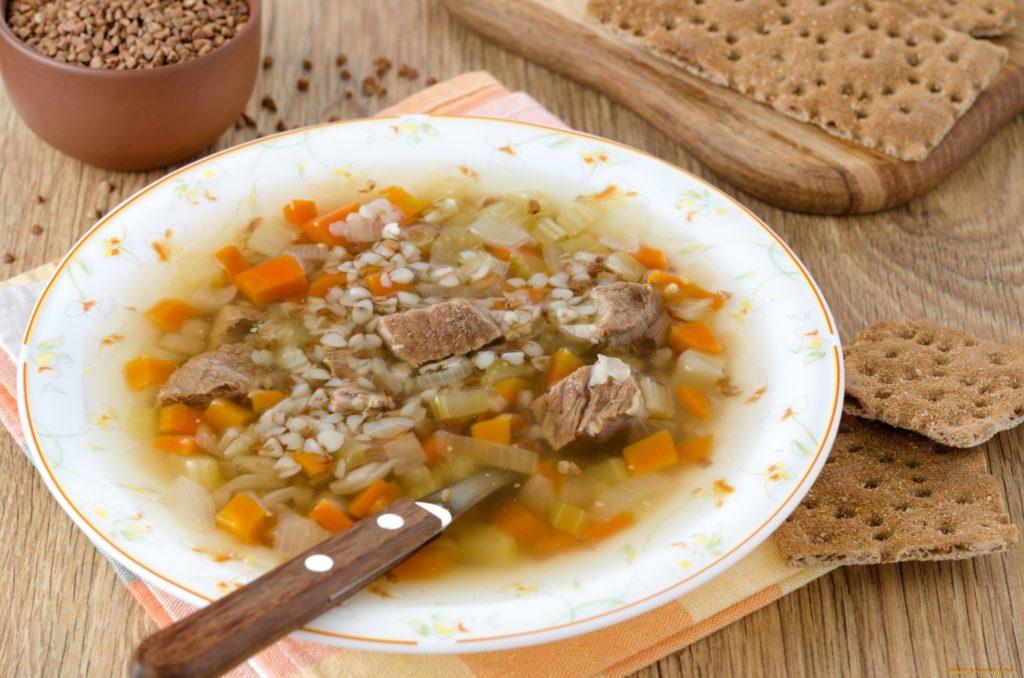 Мясной суп с картофелем