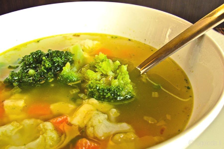 постный кабачковый суп с капустой