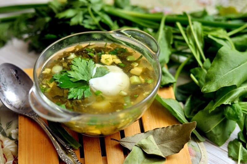 щавелевый суп рецепт классический с курицей