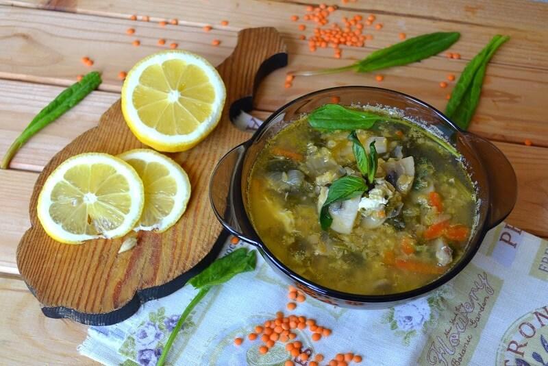 щавелевый суп рецепт классический с яйцом с курицей