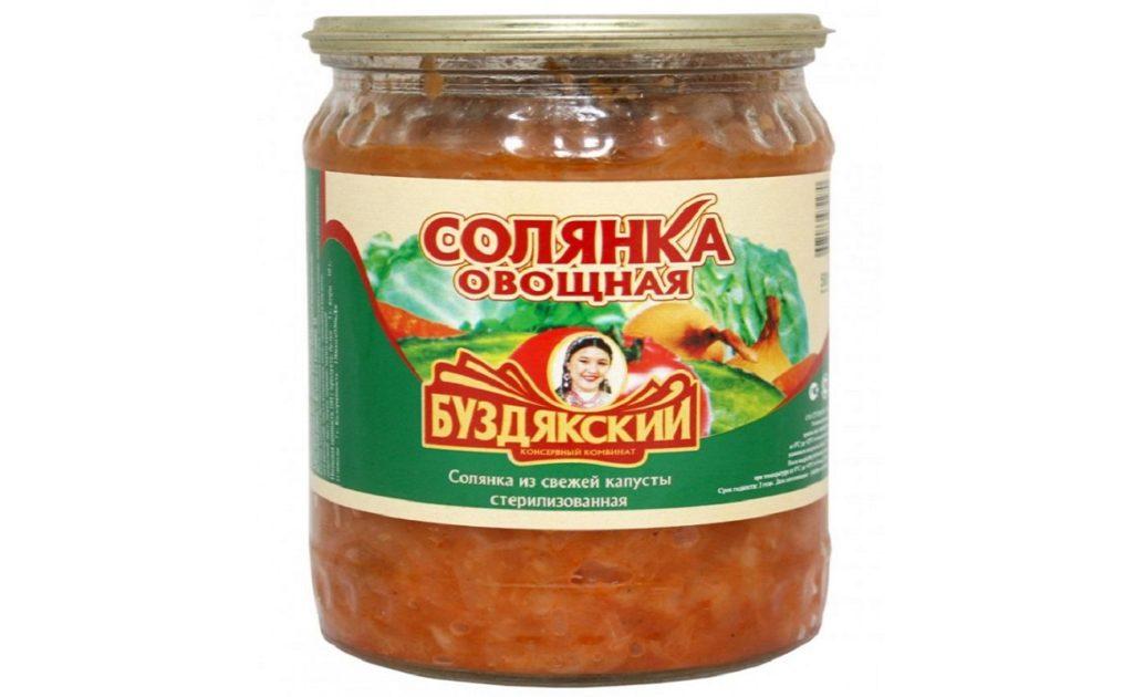 """""""Солянка овощная"""" от БКК"""