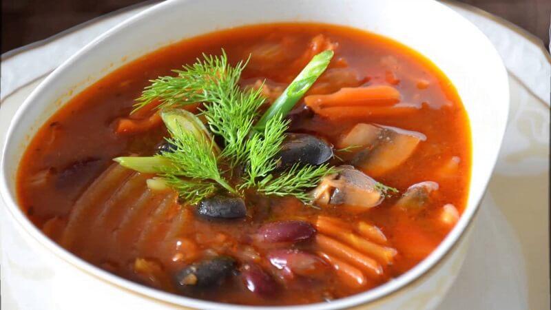 суп из красной фасоли рецепты просто и вкусно