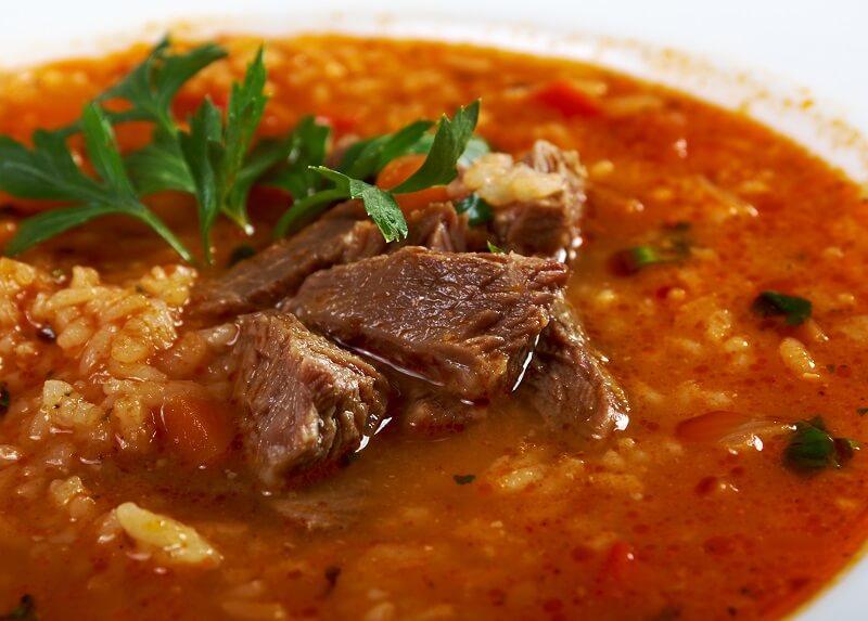 суп харчо: рецепт классический с рисом и картофелем и мясом