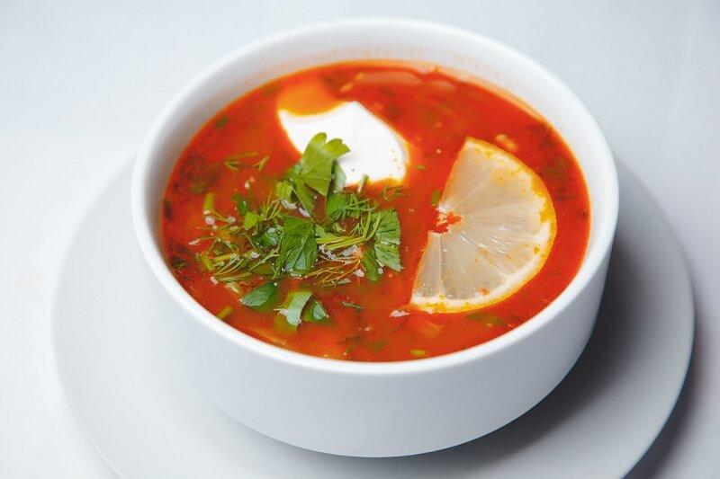 суп солянка рецепт классический с колбасой