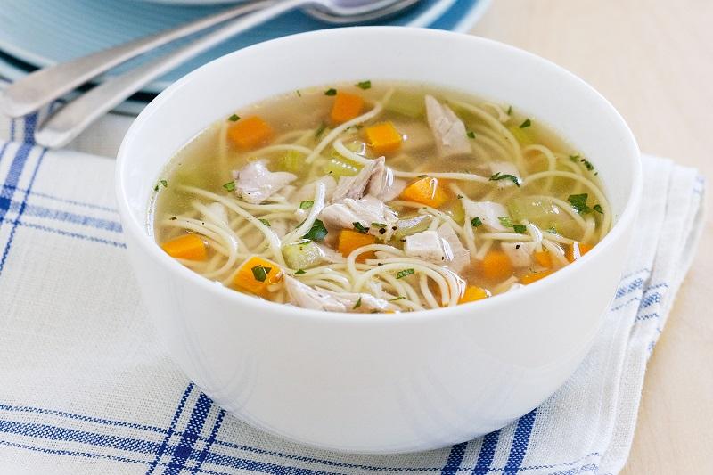 Суп с кабачком и вермишелью
