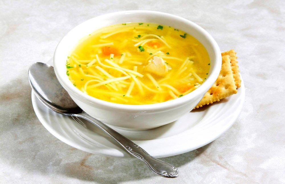 Суп с паутинкой