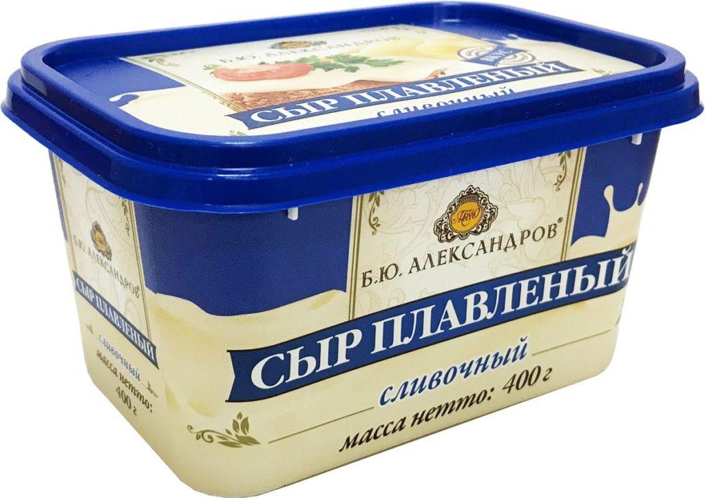 Сыр плавленый от «Б.Ю. Александров»