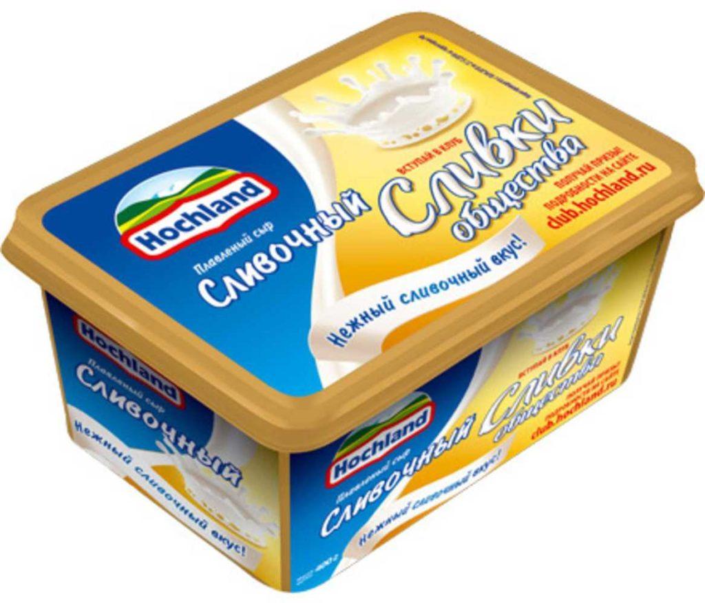 """Сыр плавленый от """"Hochland"""""""