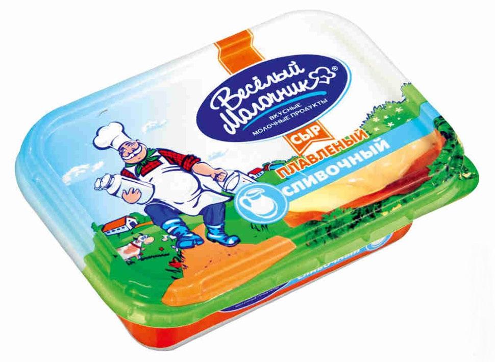 """Сыр плавленый от """"Веселый молочник"""""""