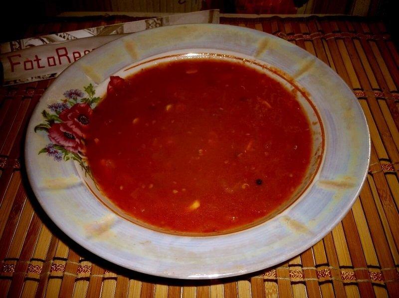 томатный суп пюре: классический рецепт