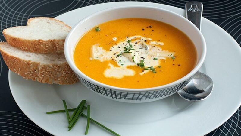 тыквенный суп пюре классический - рецепт со сливками