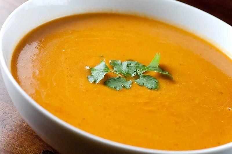 тыквенный суп пюре классический