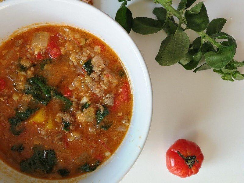 суп из красной чечевицы - рецепты просто и вкусно