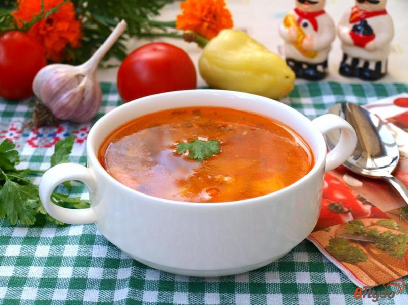 Рыбный суп с паприкой