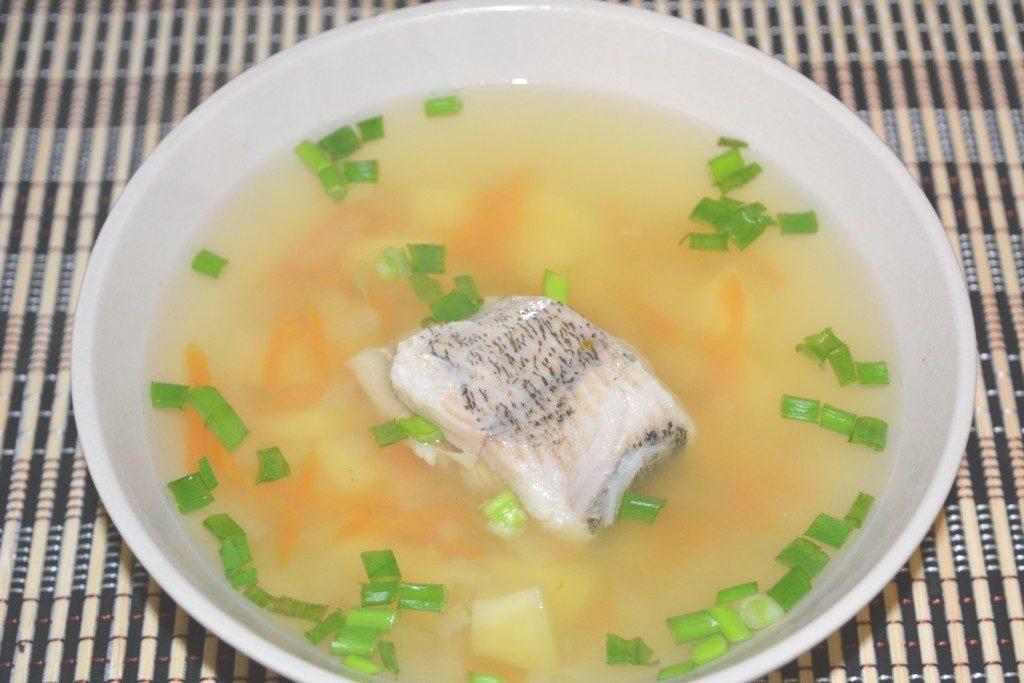 Суп из камбалы с картофелем