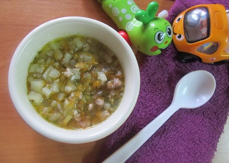 детский суп