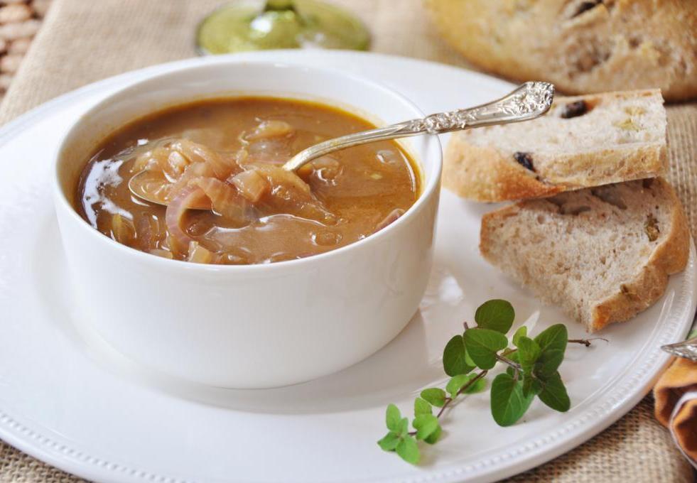 луковый суп для диеты