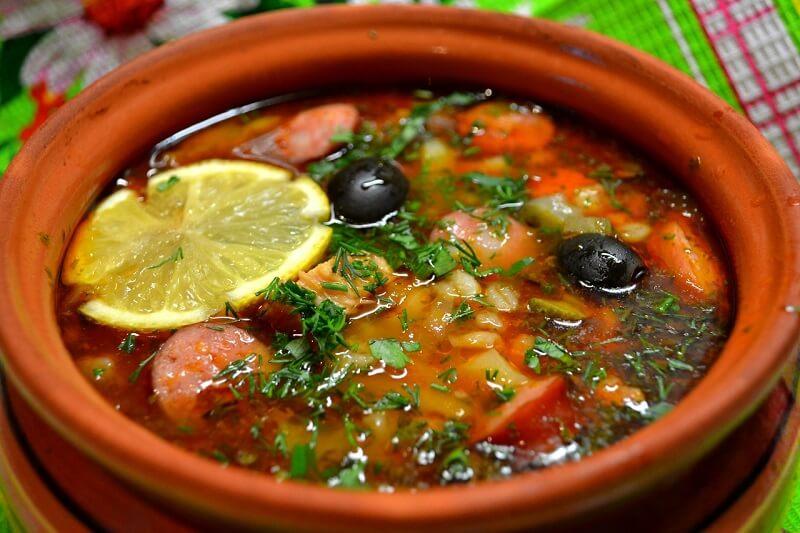 солянка суп классический