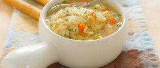 Как варить суп с рисом?